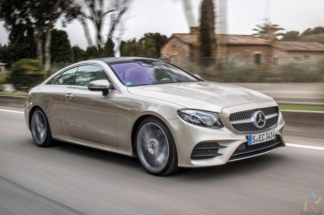 2017 Mercedes-Benz E-Class Coupe review